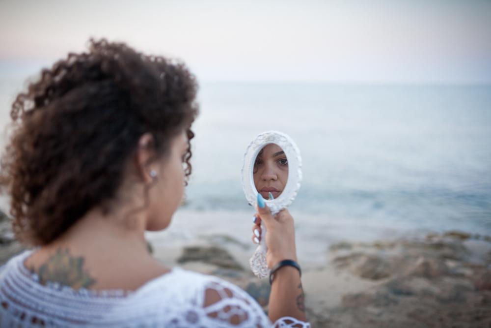 Giuly e il mare - Giuly and sea