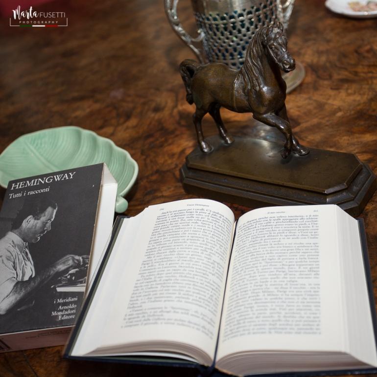 """A casa di Frank Turner non manca """"Addio alle armi"""" di Ernest Hemingway, amico Frank Turner (nonno di Frank)"""
