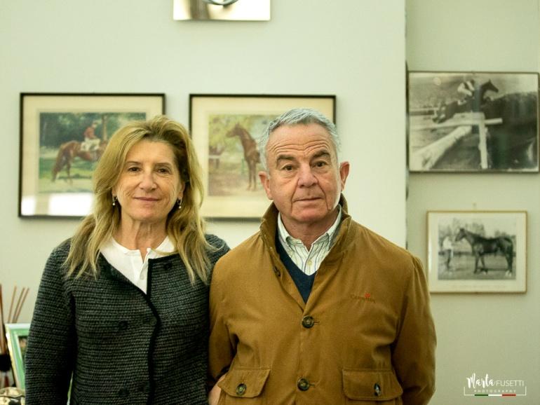 Frank Turner e la moglie Armida Barelli