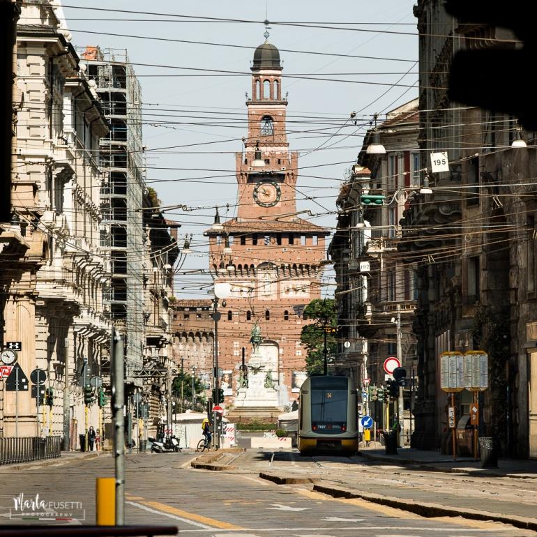 Street Photography - Milan - Italy - Lockdown - 25 April 2020