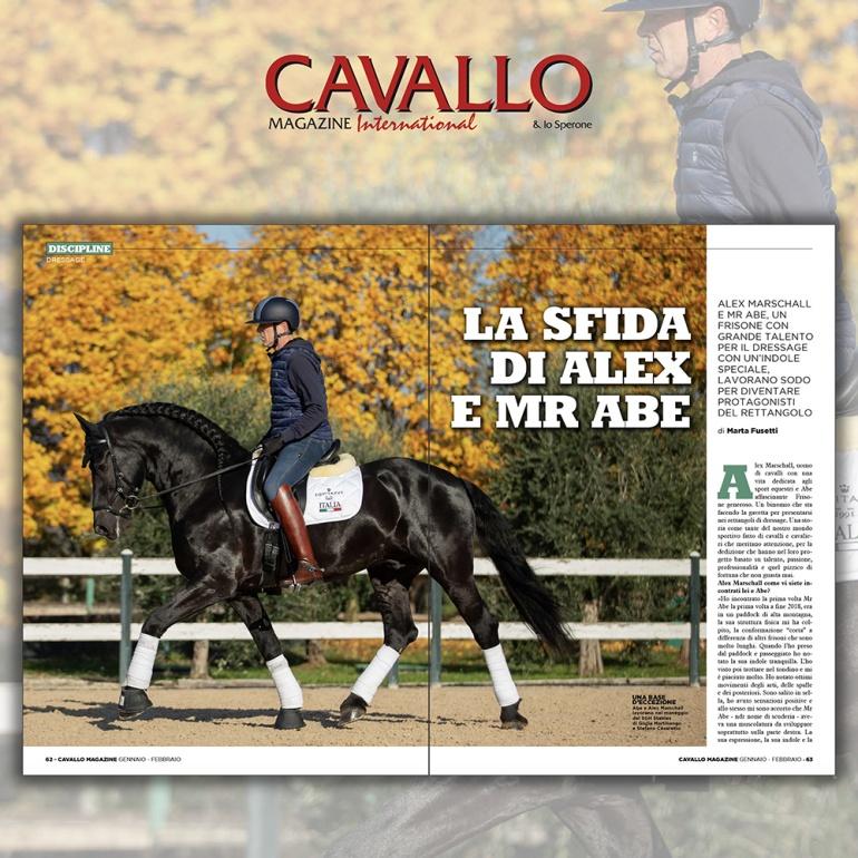 La sfida di Alex Marschall e Mr Abe - Cavallo Magazine di Gennaio-Febbraio 2020